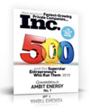 Ambit Energy named Inc 500 for a second year