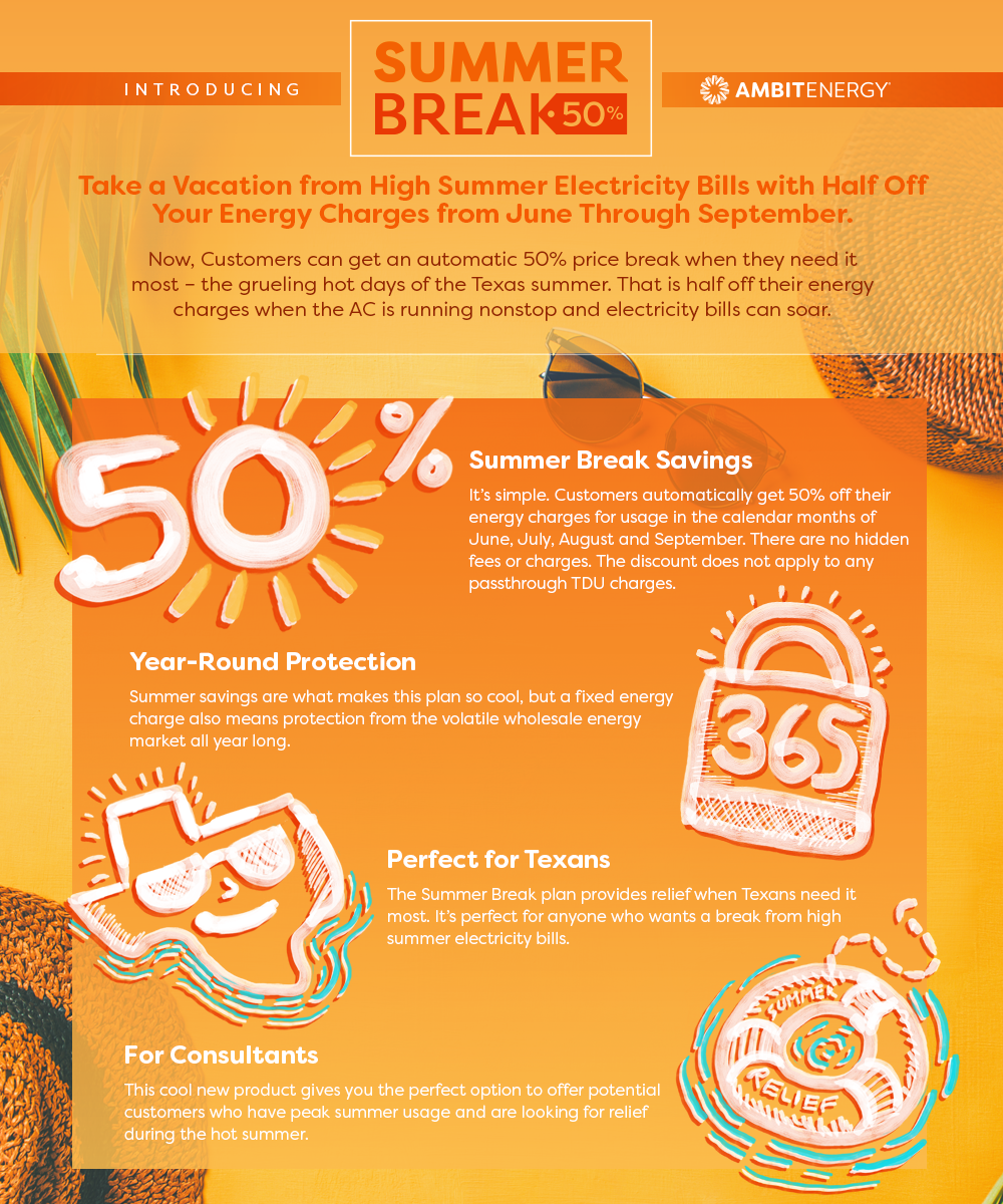 Infographic: Texans Can Take Half Off All Summer Long